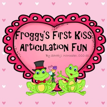 Froggy's First Kiss Articulation Fun!