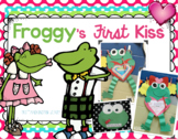 Froggy's First Kiss Valentine or Anytime Art, Math, and Wr