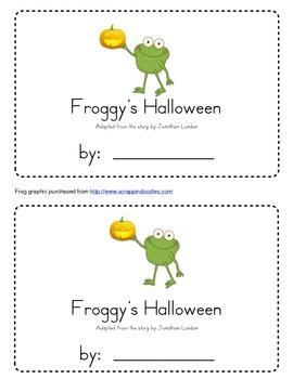 Froggy's Halloween Emergent Reader
