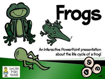 Frogs ~ An Interactive PowerPoint Presentation of their Li