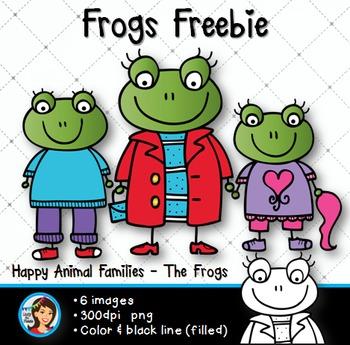 Free Clip Art Frogs