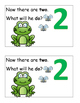 Frog Theme Emergent Reader, Rhyme and Read, Cut and Paste