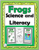Frogs Life Cycle Science & Literacy  - Frog Unit - Frog Sc