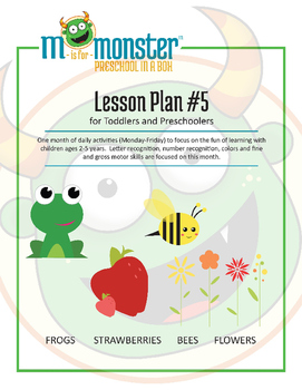 Frogs, Strawberries, Bees & Flowers Lessons