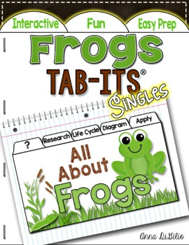 Frogs Tab-Its™