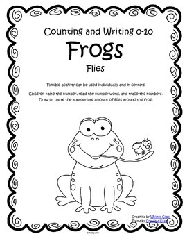 FROGS Numbers Counting and Writing