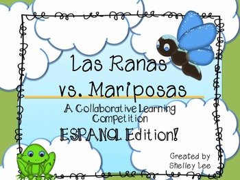 Frogs vs. Butterflies Learning Competion in SPANISH