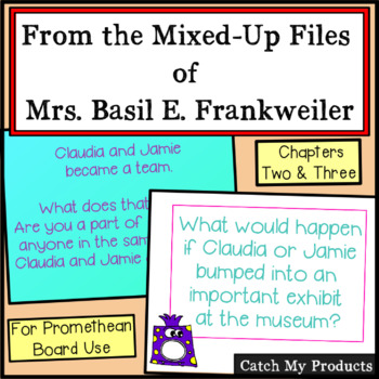 From The Mixed Up Files of Mrs. Basil E. Frankweiller Prom