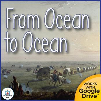 From Ocean to Ocean Interactive Notebook