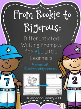 From Rookie to Rigorous: Differentiated Writing Prompts fo