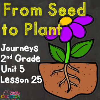 From Seed to Plant Journeys 2nd Grade Lesson 25 Supplement