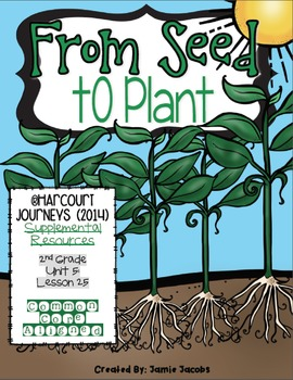 From Seed to Plant (Journeys 2nd Grade - Supplemental Materials)