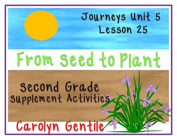 From Seed to Plant Journeys Unit 5 Lesson 25 2014 Version