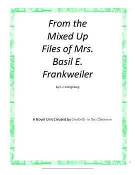 From the Mixed Up Files of Mrs. Basil E. Frankweiler Novel