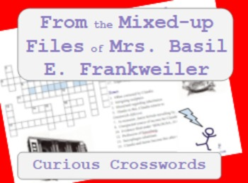 From the Mixed-up Files of Mrs. Basil E. Frankweiler- Worksheet