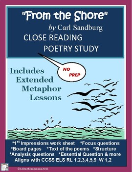From the Shore, by Carl Sandburg - Close Reading & Extende