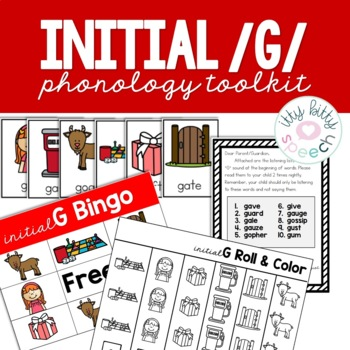 Fronting Phonology Toolkit - initial g