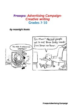 Advertising Campaign- Persuasive and Creative writing