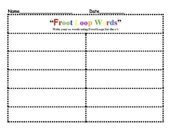"""""""Froot Loop"""""""