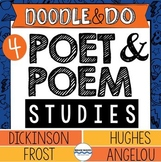 Frost, Angelou, Hughes, and Dickinson – Poet and Poem Stud