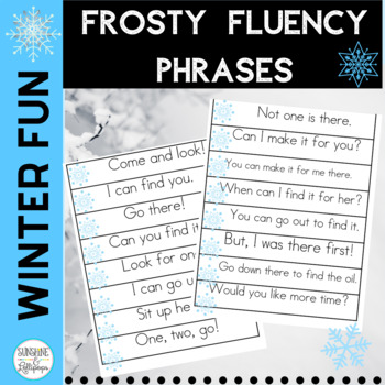 Sight Word: Frosty Fluency Phrases for 1st 100 Sight Words