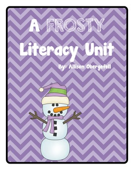 Frosty Literacy Unit
