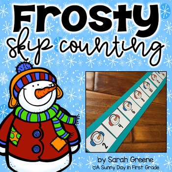 Frosty Skip Counting {freebie!}