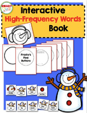 Frosty's Five Buttons {Interactive High-Frequency Words Book}
