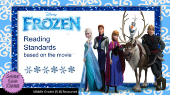Frozen Movie Reading Review Standards Worksheets