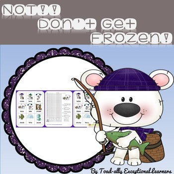 Frozen Not! with Magic e Words