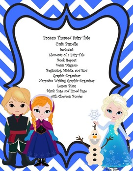 Frozen Themed Fairy Tale Unit Bundle