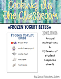 Frozen Yogurt Bites {Cooking In The Classroom}