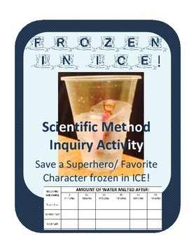 Frozen in ICE!!! Save a character in a Winter Ice Melt Sci