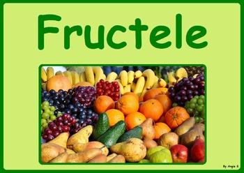 Fructele - Carte cu ghicitori (Romanian)