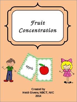 Fruit Concentration