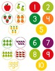 Fruit Counting File Folder Game for students with Autism