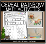 Fruit Loop Rainbows Food Activity Integrating Math, Scienc