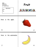 Fruit: Reproducible Guided Reading Book Level A