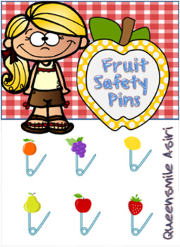 Fruit Safety Pins