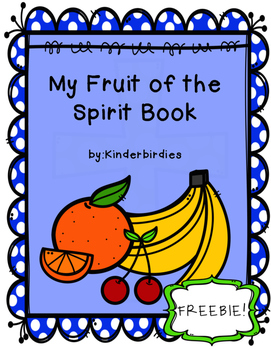 Fruit of the Spirit Book Freebie