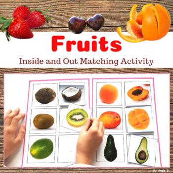 Fruit Inside & Out Matching Activity