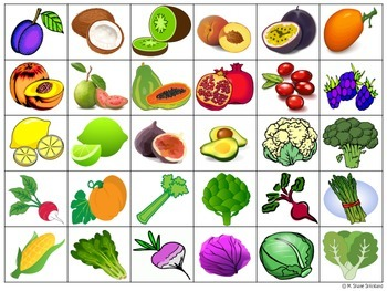 Fruits and Vegetables #2