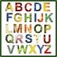 Font Clip Art: Fruits & Vegetables