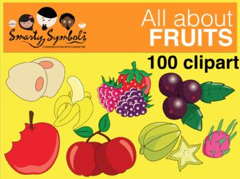 Fruits and Vegetables Set: 103 PNG Images
