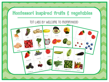 Fruits and Vegetables Unit for Young Preschoolers