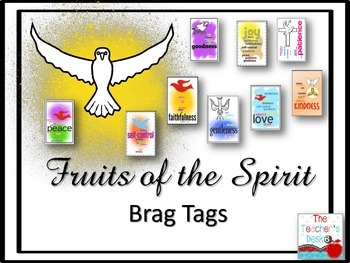 Fruits of the Spirit Brag Tags