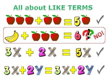 Fruity Like Terms