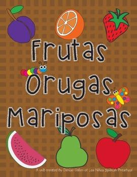 Frutas, orugas y mariposas/Fruits, Caterpillars and Butter
