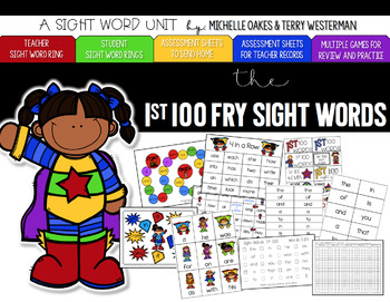 Fry 1st 100 Words Sight Word Pack