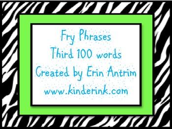 Fry 300 Phrases